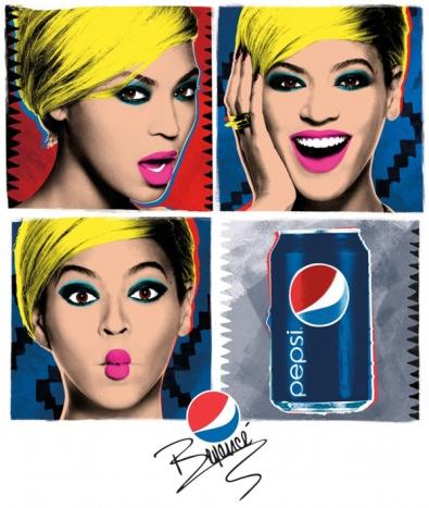 """Beyonce """"Pepsi"""""""