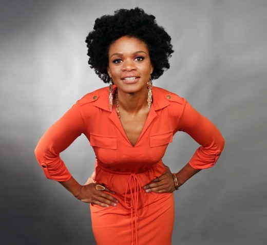 Kimberly Elise -natural hair