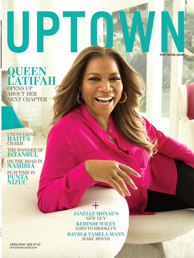 Cover Talk: Queen Latifah Shines Bright on the Cover of Uptown