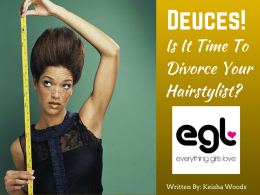 6 Signs It's  Time To Divorce Your Hairstylist