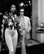 Iman and David Bowie